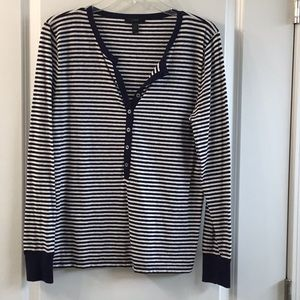 Jcrew striped henley
